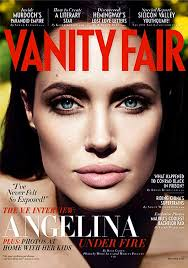 New Vanity Fair Cover Angelina Jolie Out Of The Shadows Onto The Cover Of Vanity Fair