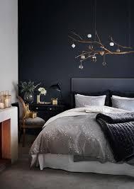 decoration des chambres de nuit chambre mur bleu nuit home decor inspiration murs