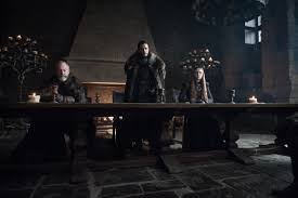 game of thrones dragonstone table our very serious game of thrones recap episode 701 sheeranstone