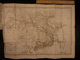 British India Map by William Bolts British East India Trading Company Bengal South Asia