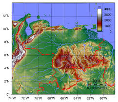 Venezuela Map Detailed Venezuela Physical Map Detailed Physical Map Of