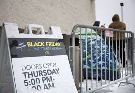 shoppers look for early deals many stores say no to