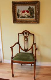 House Of Furniture Edwardian Chair Velvets Were Commonly Used In The Upholstery Of