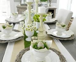 Easter Decorations Houzz by Easter Decorating Ideas Table Setting Designcorner