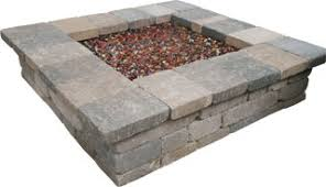 Square Firepit Outdoor Pits Semplice Square Pit