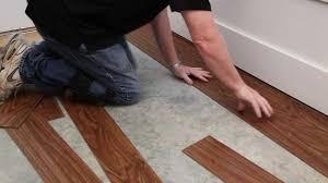 Laminate Floor Installation Guide Envee Loose Lay Flooring The One Minute Installation Guide Youtube