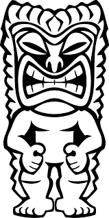 awesome tiki coloring pages 29 in coloring site with tiki coloring