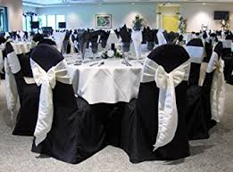 black chair covers black banquet chair covers set of 10 chair sash not
