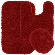 Shaggy Bathroom Rugs Garland Rug Serendipity Chili Pepper 21 In X 34 In Washable