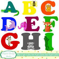 animal letter clipart clipartxtras