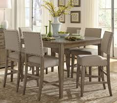 weatherford counter height dining room set by liberty home