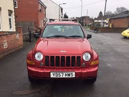 red jeep liberty 2007 2007 jeep cherokee 2 8 crd auto in wigston leicestershire gumtree