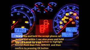 chevrolet impala 2013 2015 how to reset service light indicator