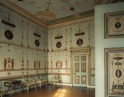 adam style house the etruscan dressing room at osterley designed by robert adam