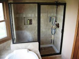 freestanding plexiglass shower stall incredible home design