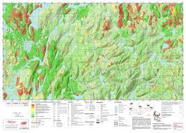 Hunting Gps Maps Printed Custom Moose Hunting Maps Trakmaps