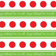 personalized gift wrapping paper personalized christmas wrapping paper