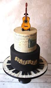 music themed 70th birthday cake cake by donnasdelicious cakesdecor