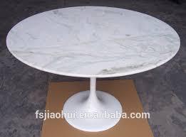 Eero Saarinen Table Eero Saarinen Tulip Table Marble Top Round Dining Table For Sale