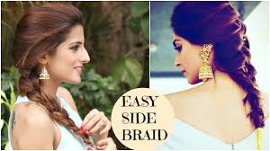 hairstyles for thin hair celebrity hairstyles to inspire fine hair sonam kapoor u0027s easy side twist hairstyle celebrity hairstyles