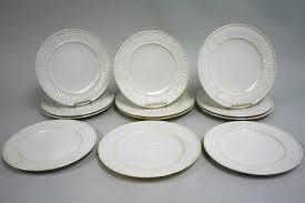 12 belleek plates