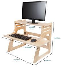 Diy Adjustable Standing Desk Beautiful Diy Standing Desk Conversion Contemporary Liltigertoo