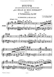preview sleeping beauty suite opus 66a peter ilyich tchaikovsky