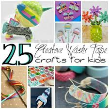 things to do with washi tape 25 creative washi tape projects for kids
