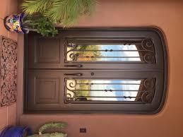 Metal Door Designs Wrought Iron Double Entry Doors Scottsdale Az Vmw