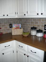 brick tile backsplash kitchen kitchen kitchen with brick backsplash brick tile