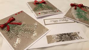 classic christmas cards process diemond dies dtp vr kimbo