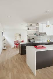 Energy Efficient Kitchen Lighting Houses White And Gray Kitchen With Smart Pendant Lighting