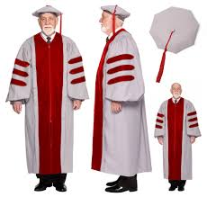 doctoral regalia mit phd gown and cap regalia set