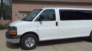 hd video 2013 chevrolet express g3500 15 passenger van used for