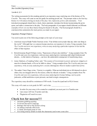 essay expository crucible essay assignment expository essay