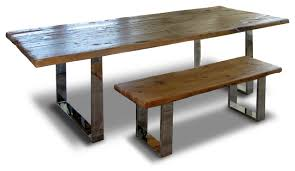 modern rustic wood benches rustic dining benches by abodeacious