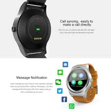sam r full round screen smart watch 1 3inch ips capacitive sale