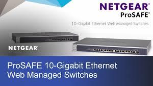 Home 10gb Switch by Netgear Prosafe 10 Gigabit Ethernet Switches Xs708ev2 U0026 Xs716e