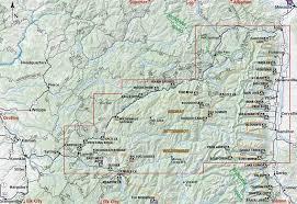 bitterroot mountains map selway bitterroot wilderness map