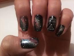 ridiculously cool star wars nail art