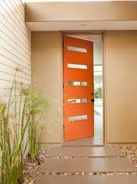 mid century modern front doors exterior design mid century