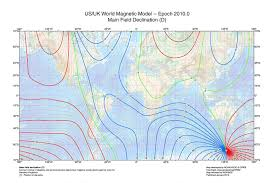 magnetic declination map solar pathfinder magnetic declination