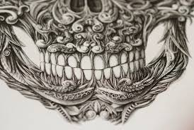 Amazing Skull - amazing skull with a dip pen by alex konahin colossal