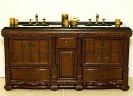 Black Distressed Bathroom Vanity Vanities Antique Double Sink Bathroom Vanity Vintage Style