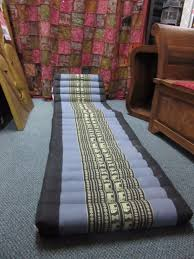 funky stuff double stitched 3 fold thai triangle cushion