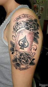 ace of spades tattoo photo num 9327