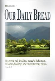 thanksgiving all year our daily bread