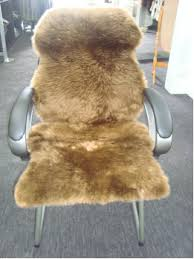Computer Chair Covers Deluxe Sheepskin Office Computer Chair Covers 175
