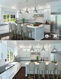 modern kitchen 3d models and 3d software by daz 3d