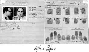 Al Capone Coloring Pages Baby Al Capone Mug And Fingerprint Card Removed From The